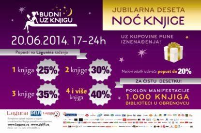 Noć knjige u Beogradu
