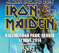 IRON MAIDEN u Beogradu