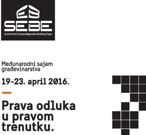 Sajam građevinarstva Beograd 2016