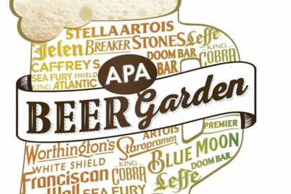 APA Beer Garden 2016.