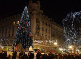 new year in belgrade tree