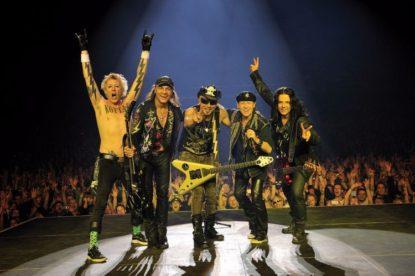 Scorpions u Areni 7. decembra