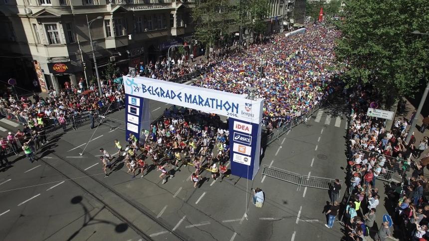 beogradski maraton polazak