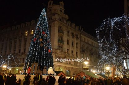 Doček nove godine na trgovima Beograda