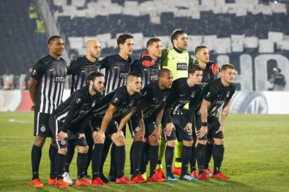 Partizan – Viktoria, 1/16 finals of Europa League