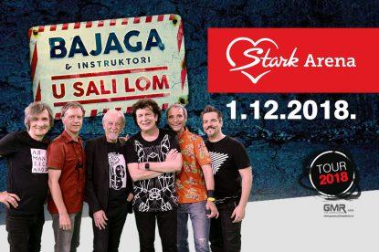 Bajaga i Instruktori u Areni 1. decembra