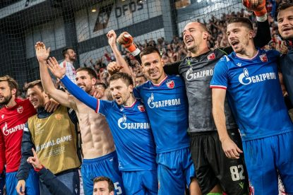 RED STAR – YOUNG BOYS, CHAMP. LEAGUE QUALIFIER