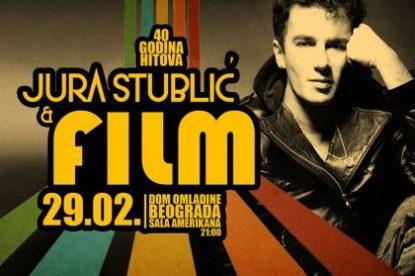 JURA STUBLIC & FILM, CONCERT IN DOB